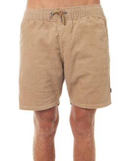 KHAKI MENS CLOTHING RIP CURL SHORTS - CWAJA10004