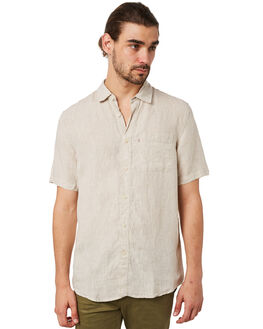 OATMEAL MENS CLOTHING ACADEMY BRAND SHIRTS - 19S880OAT