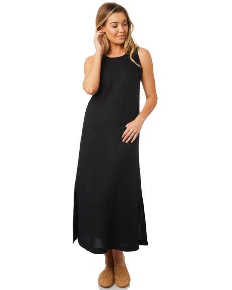 BLACK WOMENS CLOTHING SWELL DRESSES - S8184454BLACK