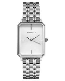 SILVER WOMENS ACCESSORIES ROSEFIELD WATCHES - OCWSS-O41SIL