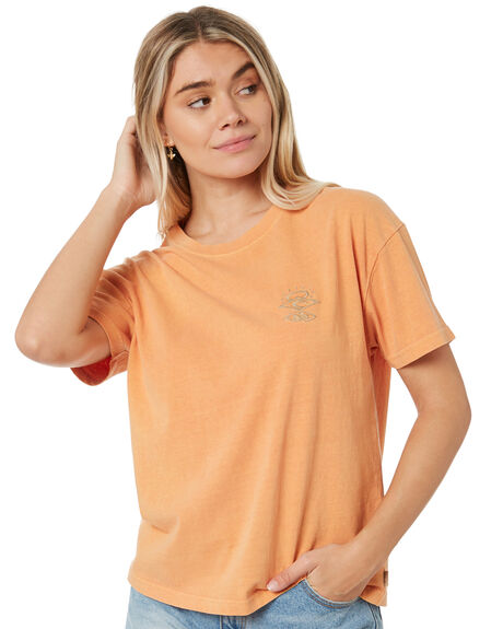 CLAY WOMENS CLOTHING RIP CURL TEES - GTEIW90136