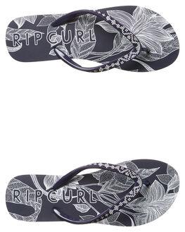 DEEP PURPLE WOMENS FOOTWEAR RIP CURL THONGS - TGTD360229