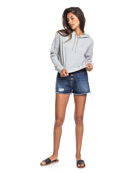 HERITAGE HEATHER WOMENS CLOTHING ROXY JUMPERS - ERJFT04249-SGRH