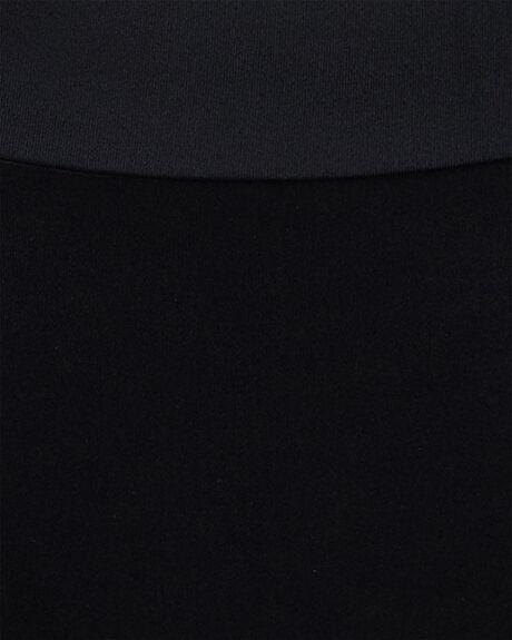 BLACK WOMENS SWIMWEAR RVCA BIKINI TOPS - RV-R492801-BLK