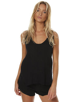 BLACK WOMENS CLOTHING MAURIE AND EVE FASHION TOPS - 6128BLK