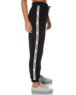 BLACK WOMENS CLOTHING STUSSY PANTS - ST171602BLK