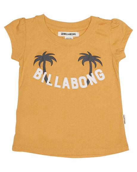 HONEY GOLD KIDS TODDLER GIRLS BILLABONG TEES - 5585004HNGLD