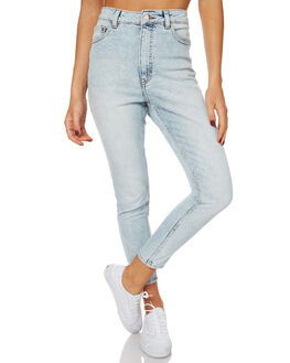 BEACH BLUE WOMENS CLOTHING CHEAP MONDAY JEANS - 0455865BEA