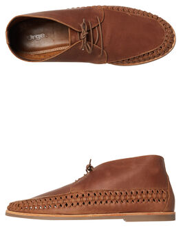 MOCHA MENS FOOTWEAR URGE FASHION SHOES - URG17125-MOCHA