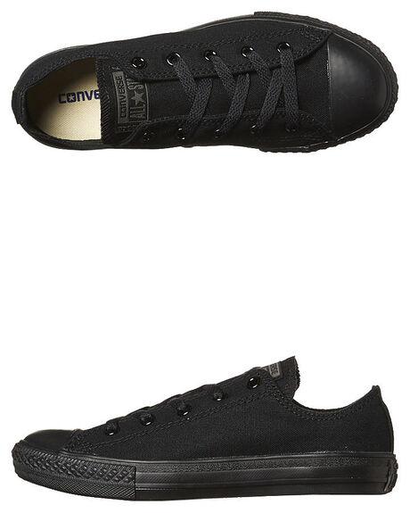 b99bbc2a77f098 Converse Kids Chuck Taylor All Star Lo Bts Shoe - Black Mono ...