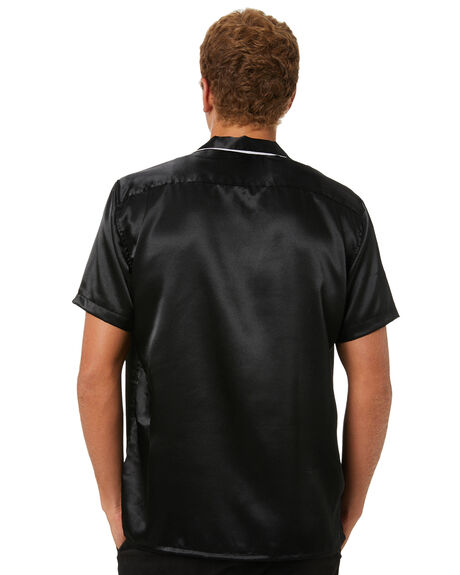 BLACK MENS CLOTHING THE PEOPLE VS SHIRTS - AW21M517BLK
