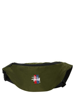 MILITARY MENS ACCESSORIES STUSSY BAGS + BACKPACKS - ST782006MIL