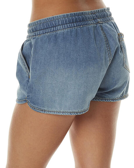 DENIM WOMENS CLOTHING ALL ABOUT EVE SHORTS - 6483085DEN