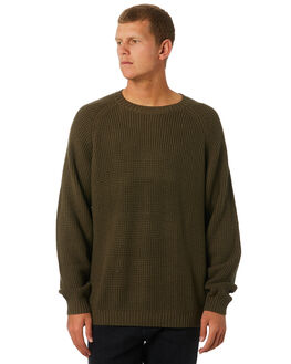 SURPLUS GREEN MENS CLOTHING RUSTY KNITS + CARDIGANS - CKM0336SUG