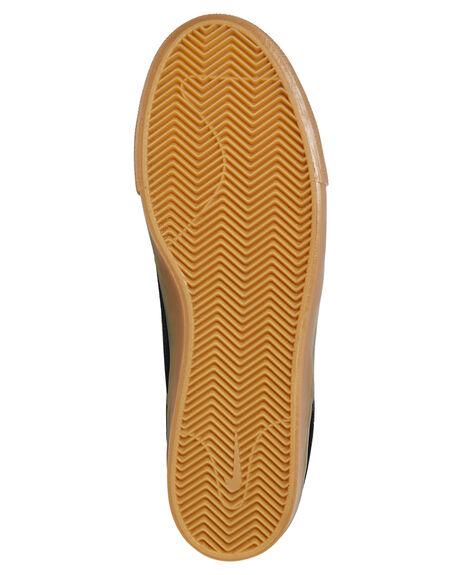 BLACK WHITE MENS FOOTWEAR NIKE SKATE SHOES - AQ7475-003