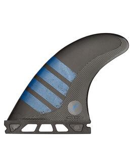 BLACK BLUE BOARDSPORTS SURF FUTURE FINS FINS - QF6-011503BLKBL