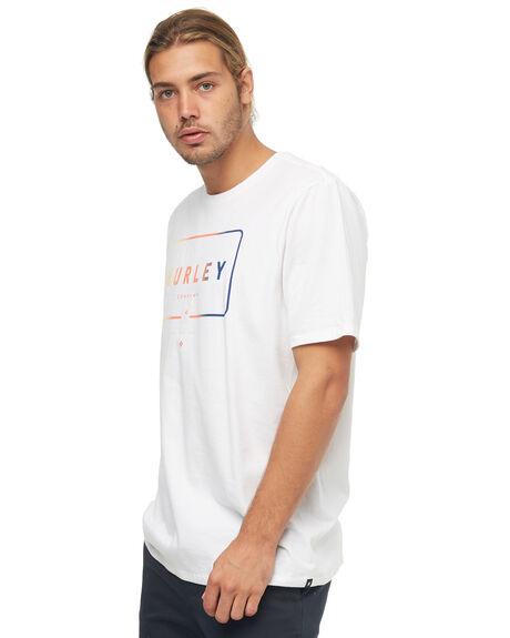 WHITE MENS CLOTHING HURLEY TEES - AA5312100