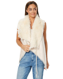 IVORY WOMENS CLOTHING LILYA JACKETS - LV02IVR