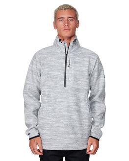 LIGHT GREY MENS CLOTHING BILLABONG JUMPERS - BB-9507609-G63