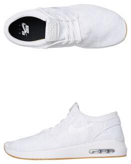 WHITE MENS FOOTWEAR NIKE SNEAKERS - AQ7477100