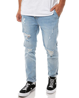 CLEAR WATERS TRASH OUTLET MENS ZIGGY JEANS - ZM-1332CLWTR