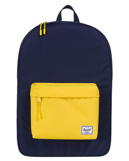 PEACOAT YELLOW MENS ACCESSORIES HERSCHEL SUPPLY CO BAGS - 10001-01639-OSPEA
