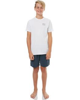 NAVY KIDS BOYS SWELL BOARDSHORTS - S3183236NAVY