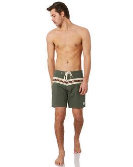OLIVE MENS CLOTHING RHYTHM BOARDSHORTS - OCT19M-TR04-OLI