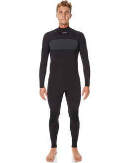 BLACK GREY SURF WETSUITS NARVAL WETSUITS STEAMERS - NW-MBC6007BLKGR