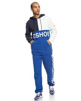 NAUTICAL BLUE MENS CLOTHING DC SHOES JUMPERS - EDYFT03423-BQR0