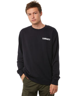 DARK NAVY MENS CLOTHING CARHARTT JUMPERS - I0220701C