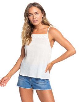 SNOW WHITE WOMENS CLOTHING ROXY FASHION TOPS - ERJWT03354-WBK0