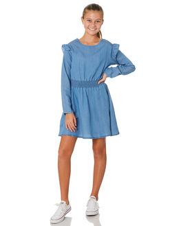 LT DENIM KIDS GIRLS EVES SISTER DRESSES + PLAYSUITS - 9530051DEN
