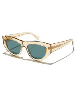 CITRINE GREEN MENS ACCESSORIES EPOKHE SUNGLASSES - 0708-BTRPOBLKCITGR
