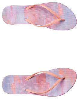 PURPLE PAINT WOMENS FOOTWEAR REEF THONGS - A3FERUPI
