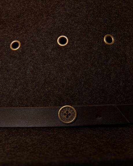 BROWN MENS ACCESSORIES FALLENBROKENSTREET HEADWEAR - W18-01-03BRN