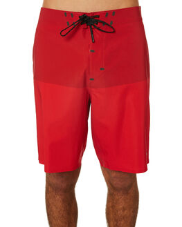HOT RED BLOCK MENS CLOTHING OUTERKNOWN BOARDSHORTS - 1810027HBK