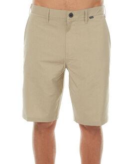 KHAKI MENS CLOTHING HURLEY SHORTS - MWS000453026B
