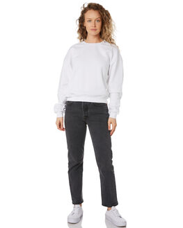 WHITE WOMENS CLOTHING SWELL JUMPERS - S8189547WHITE