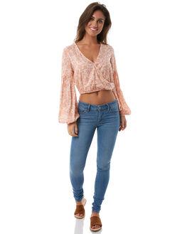 TANLINE WOMENS CLOTHING BILLABONG FASHION TOPS - 6585101TANL