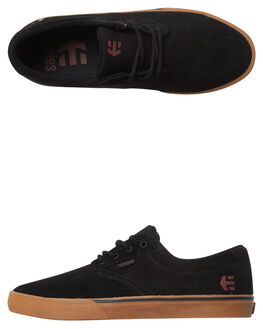 BLACK TAN RED MENS FOOTWEAR ETNIES SKATE SHOES - 4101000449-989