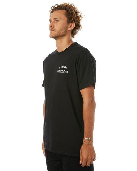BLACK MENS CLOTHING VOLCOM TEES - A504171GBLK