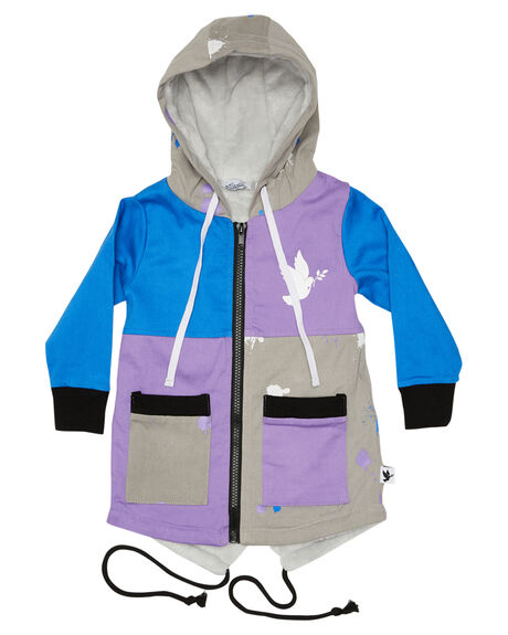 MULTI KIDS GIRLS KISSED BY RADICOOL JUMPERS + JACKETS - KR1236MULTI