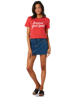 RED WOMENS CLOTHING INSIGHT TEES - 5000003544RED
