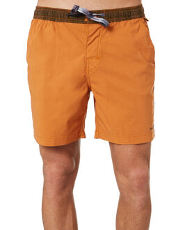 DESERT ORANGE MENS CLOTHING THE CRITICAL SLIDE SOCIETY BOARDSHORTS - BS1895DORA