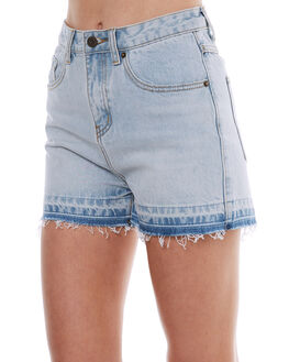 WHITE WASH OUTLET WOMENS THE HIDDEN WAY SHORTS - H8174232WHW