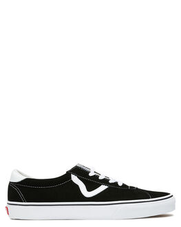 BLACK MENS FOOTWEAR VANS SNEAKERS - VN0A4BU6A6OBLK