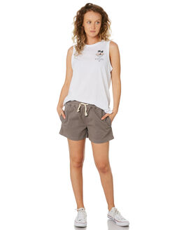 GREY OUTLET WOMENS RIP CURL SHORTS - GWAFH10080