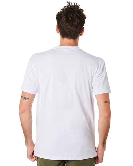 WHITE OUTLET MENS HUFFER TEES - MTE93S40110WHT