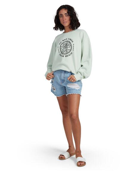 HONEY DEW WOMENS CLOTHING BILLABONG JUMPERS - BB-6517978-HDW